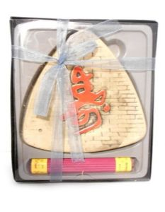 Asian Design Triangular Incense Tray & Sticks Gift Set | Buy Online at the Asian Cookshop